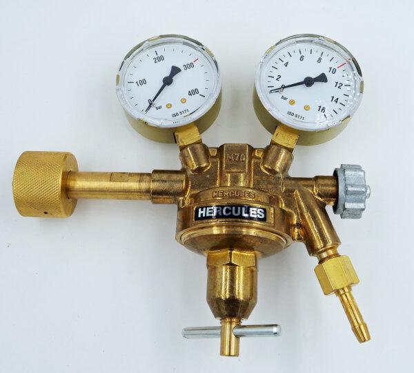 Flaschendruckminderer Druckluft von 200bar auf 0-10bar