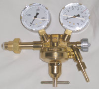 Flaschendruckminderer Druckluft von 300bar auf 0-10bar