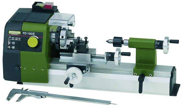 Feindrehmaschine FD 150/E die kleine Drehbank für den Modelbau von Proxxon