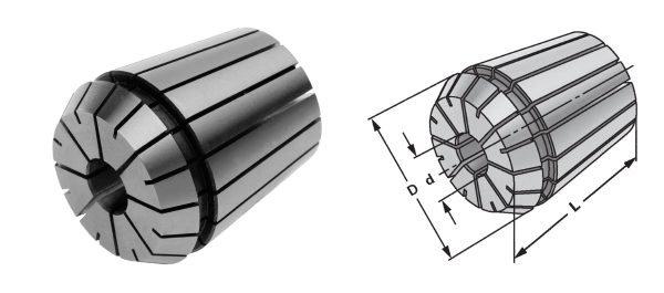Mehrbereichs-Spannzangensatz 7 Stück Spannzangen ER 11 für FD 150/E