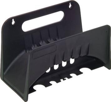 Standard-Wandschlauchhalter Kunststoff - schwarz