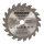Mini-Hartmetall Sägeblatt Durchmesser 85mm, Bohrung 10mm, 20 Zähne