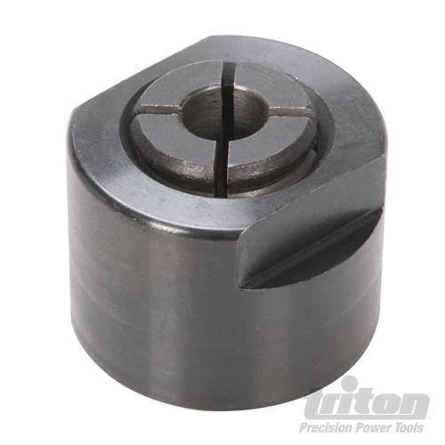 Spannzange für Triton Oberfräsen zur Aufnahme von Fräsern mit 6 mm Fräserschaft