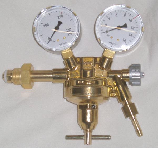 Flaschendruckminderer Druckluft von 200bar auf 0-20bar, Industriequalität