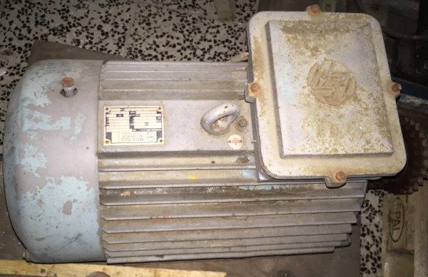 Elektromotor 9,5 KW 220/380 Volt gebraucht
